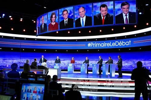 French Presidential Election: right-wing candidates join live TV debate  - ảnh 1