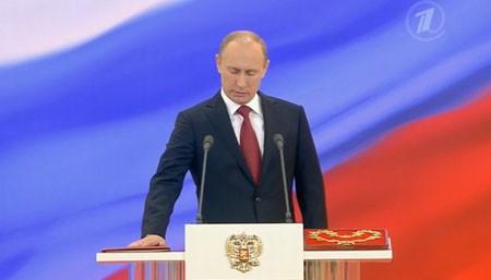 プーチン新大統領の就任式 - ảnh 1