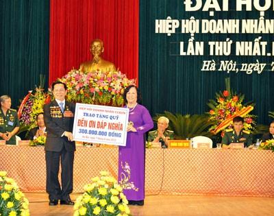 ベトナム復員軍人である実業家協会 第1回代表大会  - ảnh 1
