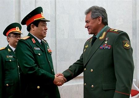 タイン国防相、ロシアを訪問中 - ảnh 1