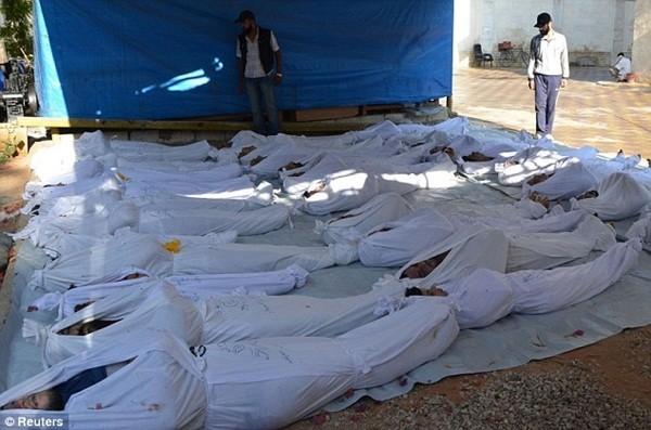 シリア、神経ガス使用か 政権側は否定 - ảnh 1