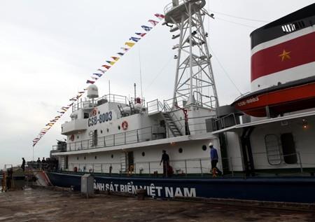 海上警察に巡査船を装備 - ảnh 1