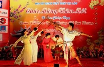 各国駐在ベトナム大使館、テトを祝う式典 開催 - ảnh 1