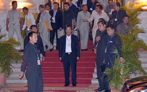 カンボジア人民党の臨時大会終える - ảnh 1