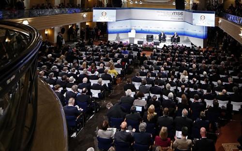 イラン核で枠組み合意を訴える EU外交安全保障上級代表 - ảnh 1