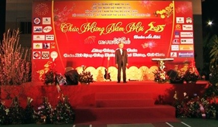 各国駐在ベトナム大使館、旧正月テトを祝う - ảnh 1