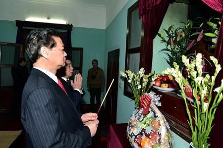 ズン首相、ホーチミン遺跡地区を訪問 - ảnh 1