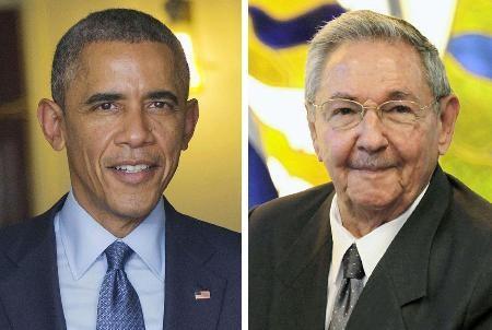 オバマ大統領とカストロ議長、接触へ 10日、パナマの国際会議で  - ảnh 1