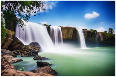 「奥さんの滝」ダクラク省 - ảnh 3