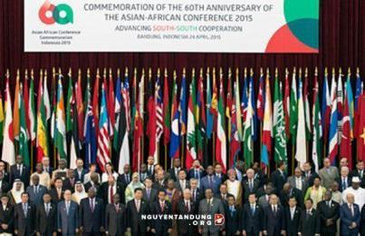 アジア・アフリカ首脳会議に出席中のサン国家主席の活動 - ảnh 1