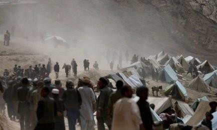アフガニスタン北東部で地滑り、52人死亡か - ảnh 1