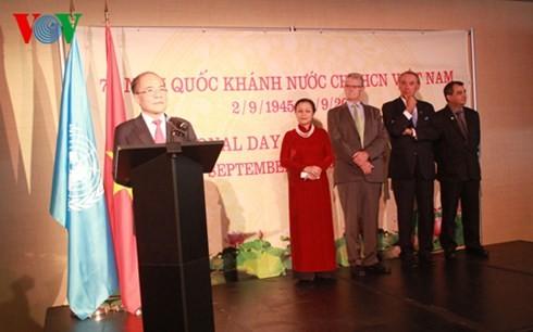 フン国会議長、ニューヨークでのベトナム独立記念レセプションを主催 - ảnh 1