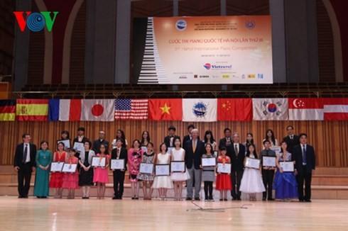 ベトナム、第3回ハノイ国際ピアノコンクールで快挙を達成 - ảnh 1