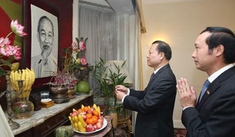 ニン副首相、イギリスを訪問中 - ảnh 1