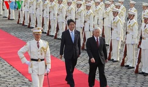 日本世論、チョン書記長の訪問を高く評価 - ảnh 1