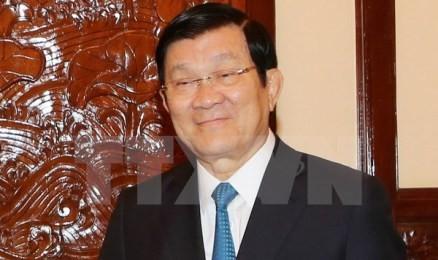 サン国家主席、まもなく「国連持続可能な開発サミット」に出席 - ảnh 1