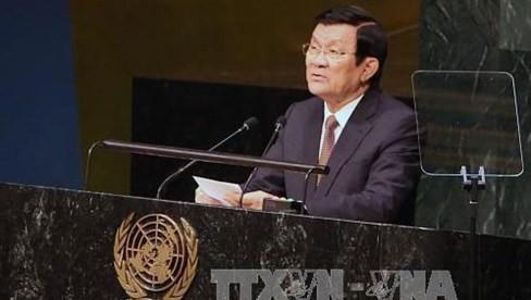 国連サミットに出席中のサン国家主席の活動 - ảnh 1