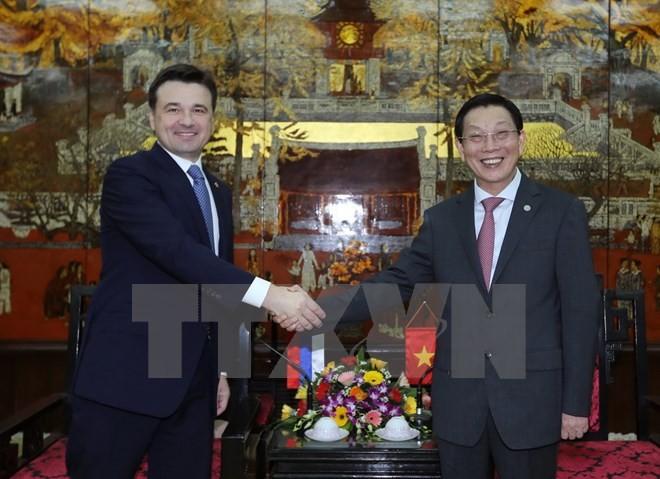 ハノイとモスクワ、多分野で協力を強化 - ảnh 1