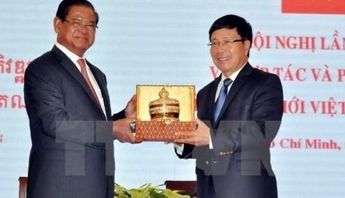 ベトナム・カンボジアの団結友好関係の一層の強化 - ảnh 1