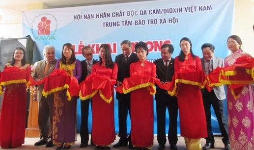 ベトナムの枯葉剤被害者のコモンハウスがオープン - ảnh 1