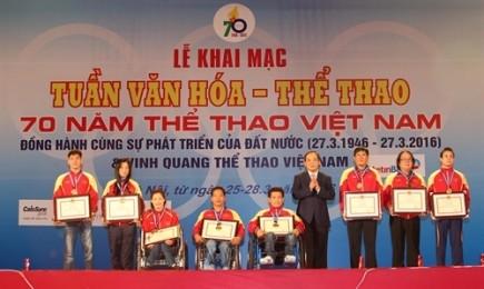 「ベトナム文化スポーツ週間」イベントが始まる - ảnh 1