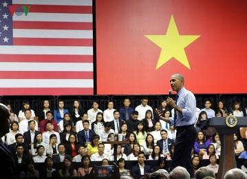 オバマ大統領、若手実業家コミュニティと交流 - ảnh 1