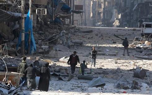国連総会 シリアの即時停戦求める決議 賛成多数で可決 - ảnh 1