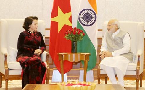 ガン国会議長、インドを訪問中 - ảnh 1