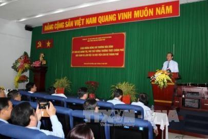 ビン副首相、ホーチミン市の幹部学院を訪問 - ảnh 1