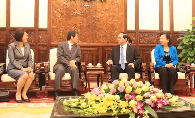 ベトナム・日本の広範な戦略的パートナー関係、順調に発展 - ảnh 1