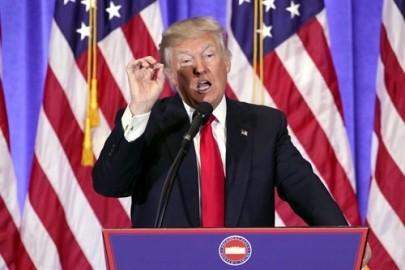 トランプ次期大統領会見 政策転換の姿勢を前面に - ảnh 1