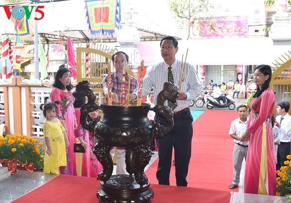 カントー市、ベトナム伝統医学の創始者226回忌を記念 - ảnh 1
