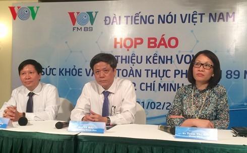 VOV,健康保護・食の安全放送チャンネルを発表 - ảnh 1