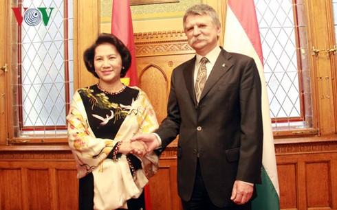 ベトナムとハンガリーの国会議長との会談 - ảnh 1