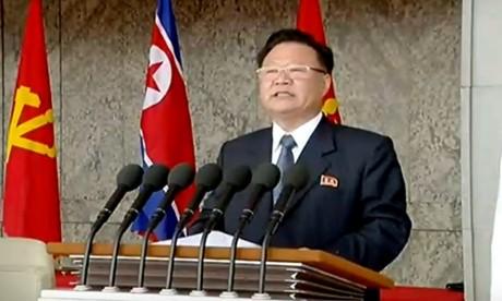 朝鮮、軍事パレードで米けん制「核戦争には核攻撃戦で対応する」 - ảnh 1
