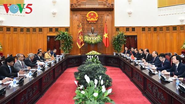 ベトナムとスリランカ首相の会談 - ảnh 1