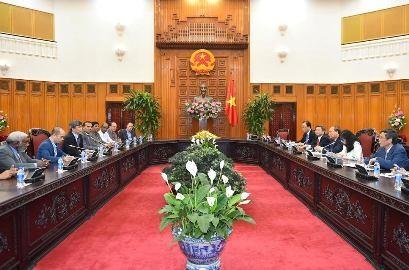 フック首相、ICA会長と会見 - ảnh 1