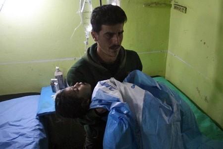 「シリアでサリンかサリンのような物質使用」OPCWが発表 - ảnh 1