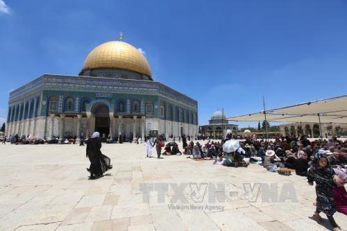 エルサレムで銃撃戦 武装したパレスチナ人と警察官 6人が死傷 - ảnh 1