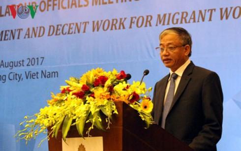 ASEAN5カ国の労働協力第2回閣僚会議が始まる - ảnh 1