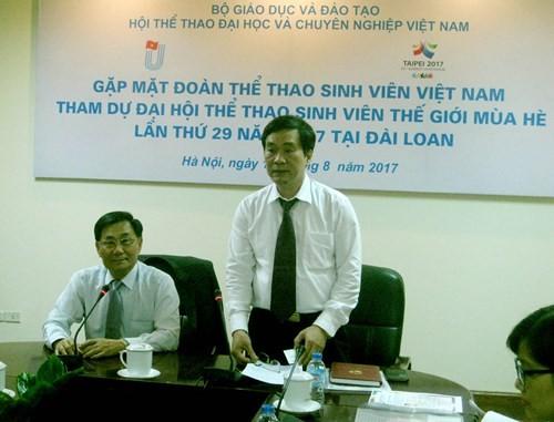 ベトナム、第29回世界学生スポーツ大会に参加 - ảnh 1