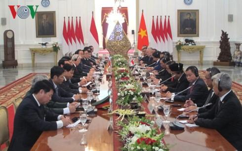 チョン書記長とウィドド大統領との会談 - ảnh 1