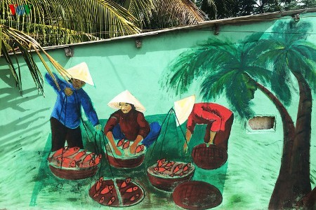 タムタイン壁画村 - ảnh 3