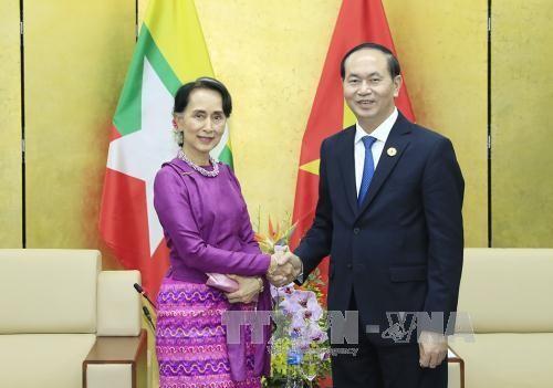 クアン主席、各国の首脳と会見 - ảnh 2