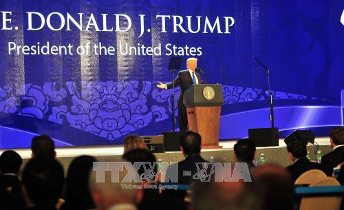 トランプ大統領、CEOサミットで演説 - ảnh 1