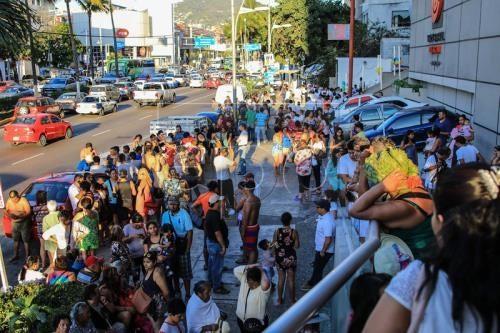 メキシコでM7.2の地震 複数の建物被害も死傷者の情報なし - ảnh 1