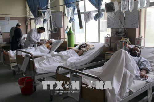 アフガニスタンで自爆テロ 「イスラム国」が声明 - ảnh 1