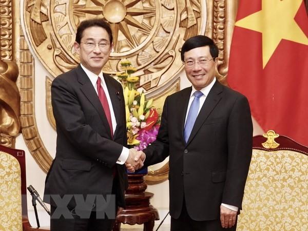 ミン副首相、日本の自民党政調会長と会見 - ảnh 1