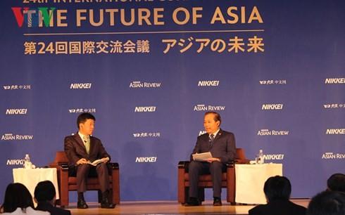 ビン副首相、「アジアの未来」に出席 - ảnh 1