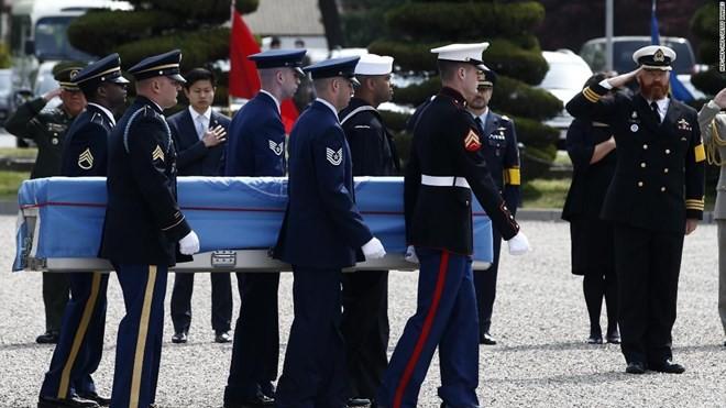 戦没米兵遺骨返還へ協議 朝鮮、将官級提案 - ảnh 1